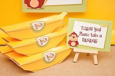 Banana Favor Box - Printable
