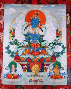 Vajradhara, Buddha (Tibetan: dor je chang, sang gye. English: the Vajra Holder, Enlightened One)