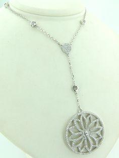 Naszyjnik G0073 - - Biżuteria srebrna Naszyjniki - Jubiler W. Śliwiński - brylanty, pierścionki, obrączki, zegarki, biżuteria