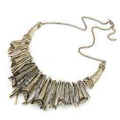 Vintage Hollow-out Exaggerated Totem Fashion Necklace