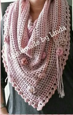 Ideas for crochet shawl scarf road trips Manta Crochet, Freeform Crochet, Crochet Poncho, Knitted Shawls, Crochet Scarves, Crochet Clothes, Crochet Fabric, Crochet Crafts, Road Trip Scarf