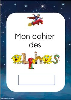 Mon cahier des Alphas Baby Corner, French Classroom, Home Schooling, Infant Activities, Kids Education, Legos, Kids Toys, Kindergarten, Teaching