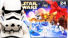 *NEW* LEGO Star Wars 2016 Advent Calendar 24 themed gifts unboxing * Features 8 minifigures and a Battle Droid, including an exclusive holiday-themed minifig. Advent Calendar 2016, Calendar Themes, Star Wars Advent Calendar, Lego Duplo Sets, Disney Princess Frozen, Star Gift, Battle Droid, Lego Toys, Stop Motion