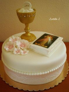 First Holy Communion - Cake by Ivule