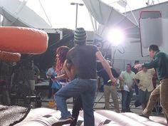 RBD participando do programa Despierta America (04.03.08) - 024 - RBD Fotos Rebelde | Maite Perroni, Alfonso Herrera, Christian Chávez, Anahí, Christopher Uckermann e Dulce Maria