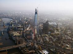 14 Vertigo-Inducing Buildings   Around the World -  SHARD  London  Height: 1,017 feet  To be completed: June 2012