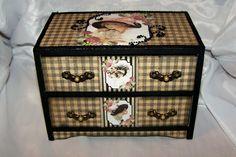 Decorative Vintage Box Trinket Box Jewelry Box, Ring Box, Treasure Box Victorian Lady