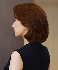 IMAGE3 Curl Styles, Short Hair Styles, Korean Perm, Digital Perm, Cabello Hair, Cute Short Haircuts, Permed Hairstyles, Long Hair Cuts, Shoulder Length Hair