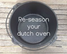 Cast iron cookware needs to be seasoned, or else it will rust and food will stick.