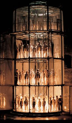 The Damnation of Faust, 1999 Opera set in Salzburg by Jaume Plensa