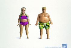 BARBIE & KEN, Xynias Wetzel Von Buren, Leo?s Sports Club, Impresos, Al aire libre, Publicidad
