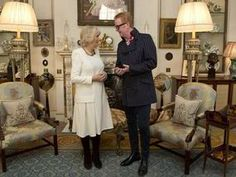 BBC radio star Chris Evans swapped Broadcasting House for Clarence House as he met Camilla, the Duchess of Cornwall today. Prince Charles And Camilla, Prince Andrew, Prince Edward, Clarence House, Duke Of York, British Royal Families, Duke Of Cambridge, Duchess Of Cornwall, Bbc Radio