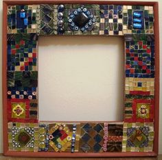 29 best my mosaic frames and mirrors images on pinterest glass mirror and mirrors - Mosaic Frames
