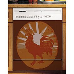 Appliance Art - Dishwasher Cover... yes!