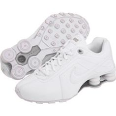 Nike Kids - Shox Conundrum SI (Youth) (White/White/Metallic Silver) - Footwear, $51.99 | www.findbuy.co