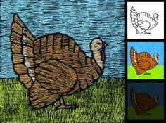 Scratch Turkey Diagram