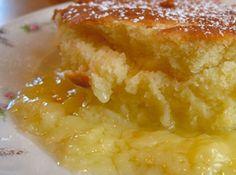 Yum... I'd Pinch That! | Crockpot Lemon Pudding Cake