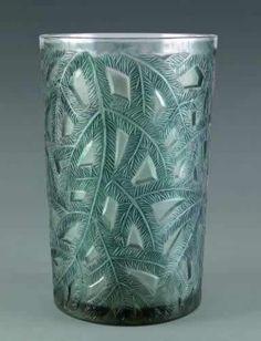 Lalique Vase Epicea