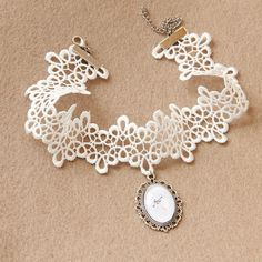 White Lace Choker 2.60 DOLLARS AliExpress