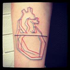 Madame CHäN heart tattoo #tattoo #ink #madamechan