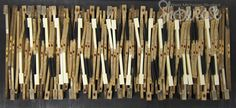 "Reeths-Puffer - Morgan Nichols - ""The Rhythm of Art"", Wood and Old Piano Keys"