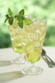 A New Twist on Iced Green Tea - BerryRipe