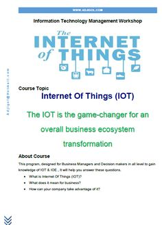 Internet Of Things Course IOT
