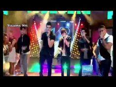 "CNCO en Despierta America canta ""Primera Cita"" - YouTube"