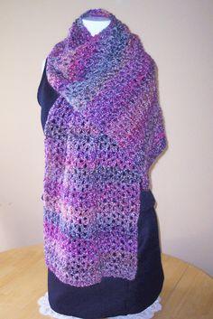 Crochet Prayer Shawl by hendersonmemories on Etsy, $75.00