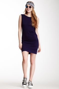 American Apparel Scoop Back Dress on HauteLook #sport #dress #dark