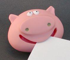 Piggy Memo Clip