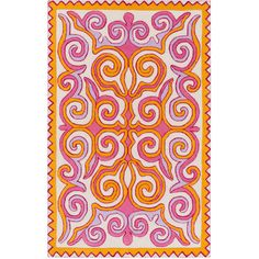 Surya Tulemola Magenta & Gold Hand Woven Wool Rug ($130) ❤ liked on Polyvore featuring home, rugs, gold area rugs, chevron area rug, wool chevron rug, hand woven rugs and wool rugs