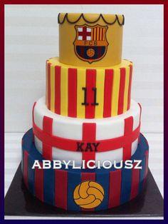 FC Barcelona cake!