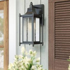 New Abbott Outdoor Wall Lantern by Sol 72 Outdoor Lighting Home Decor Furniture. Fashion is a popular style Porch Lighting, Front Door Lighting, Outdoor Walls, Garage Lighting, Wall Lights, Outdoor Wall Lantern, Exterior Light Fixtures, Outdoor Garage Lights, Lights