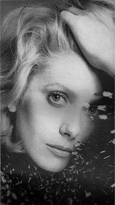 Catherine Deneuve by Richard Avedon, Vogue, november 1971