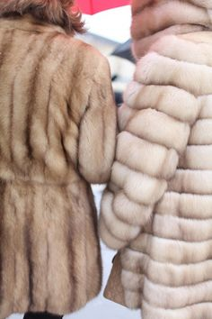 Fur. Some love it. Some can't stand it! What's your take? #winterfashion #furcoat