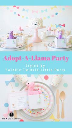 Adopt A Llama Party