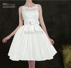 The Newest Coctail Dresses Bows Lace Homecoming Dresses A skirt Sheath Prom Party Evening Dresses