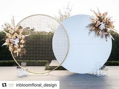 Source Wedding Backdrop circle round white wedding arch metal for weddin. Source Wedding Backdrop circle round white wedding arch metal for wedding decoration stage Wedding Stage Decorations, Backdrop Decorations, Wedding Centerpieces, White Party Decorations, Backdrop Ideas, Backdrop Stand, White Backdrop, Centerpiece Ideas, Wedding Bouquets