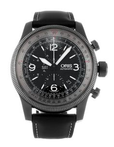 The Oris Big Crown Chronograph 675 7648 4264 is a real athlete among pilot watches