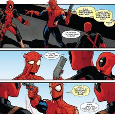 spiderman deadpool - Google Search