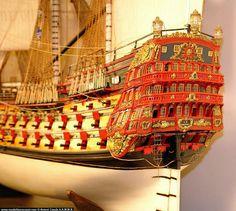 Model Sailing Ships, Model Ships, Sailing Boat, Hms Victory, Ship Of The Line, Wooden Ship, Tall Ships, Model Building, Battleship