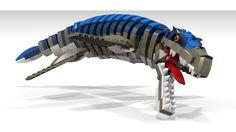Liopluerodon Lego Dinosaur Lego Dinosaurus, Legos, Lego Jurassic Park, Lego Universe, Lego Display, Lego Animals, Amazing Lego Creations, Lego Craft, Doom Patrol