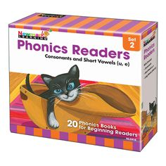 Phonics Boxed Readers Set 2 Consonants And Short Vowels