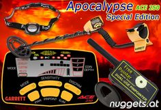 Garrett ACE Apocalypse Special Edition Package from www. Metal Detector, Pointers, Apocalypse, Stylus, Detector De Metal