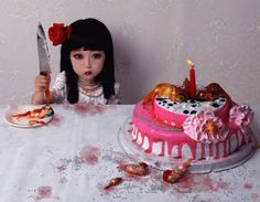 Zhang Peng ~ Zhang Peng's photographs look like stills from fantasy animation films; they are in fact documents of elaborate sets featuring little girls. Description from pinterest.com. I searched for this on bing.com/images