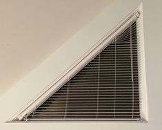 Image result for cellular blinds triangle window