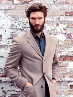 Mads Broberg beard model