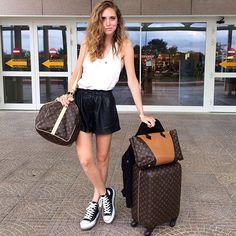 Conheça os essenciais de viagem da blogueira Chiara Ferragni