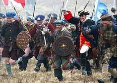 BBC recreates the Jacobite Rebellion at Culloden